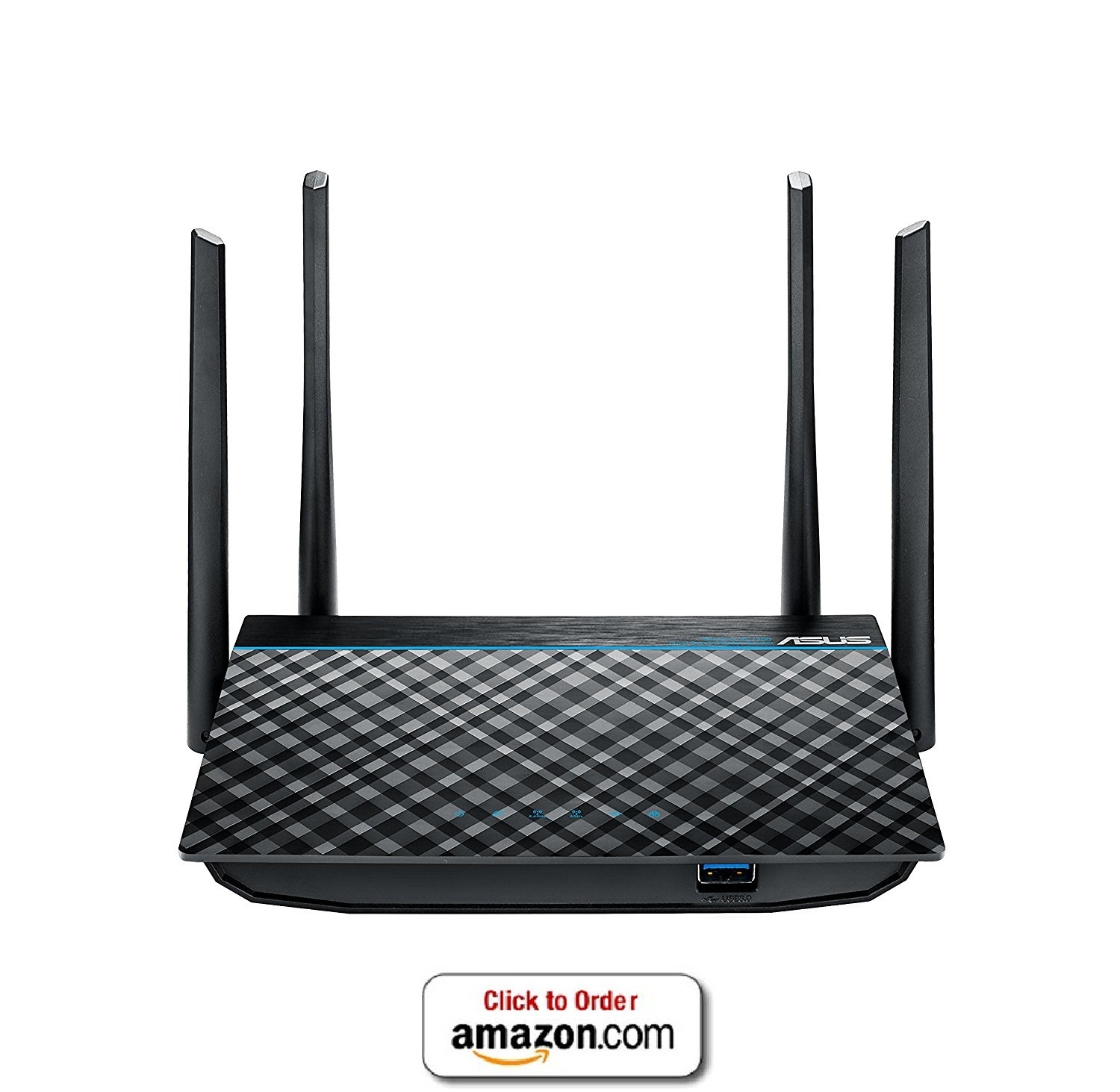 Asus Wifi 4-port Gigabit Router with USB 3.0