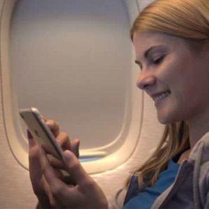 mobile in flight