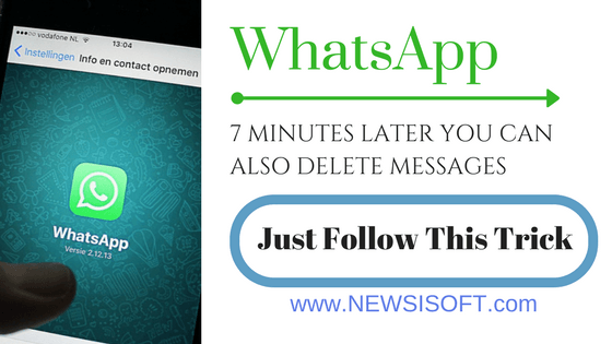 Whatsapp: 7 Minutes Later You Can Also Delete Messages - Just Follow These Trick